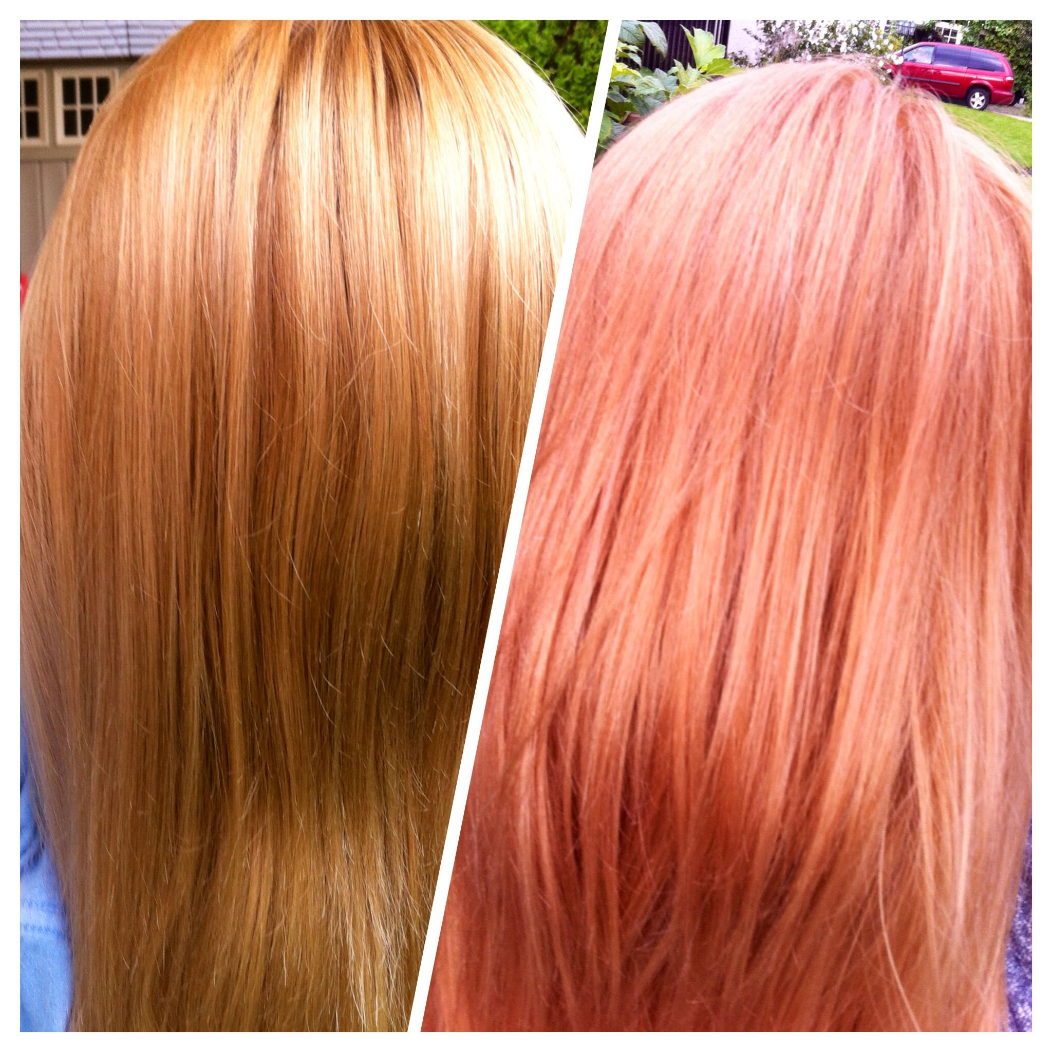 Peach Hair Igora Royal Peach 18 Volume Developer Ardell Color