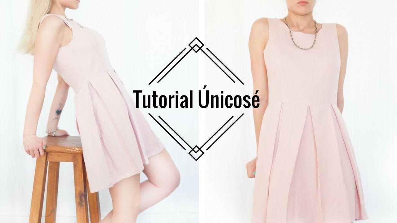 DIY Costura Vestido Tablas Mujer. | caro | Pinterest