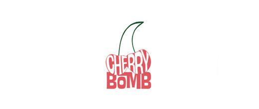 Bomb cherry logo designs