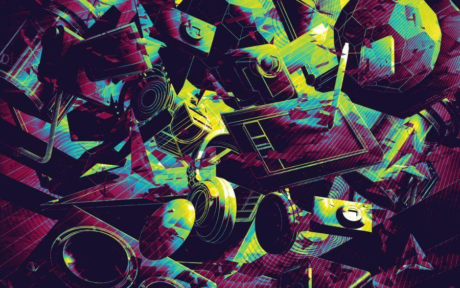 מבחר יצירות פסיכדליות דיגיטליות חינמיות אמנות הטבע Myherb Cool Wallpapers Art Art Wallpaper Psychedelic Art