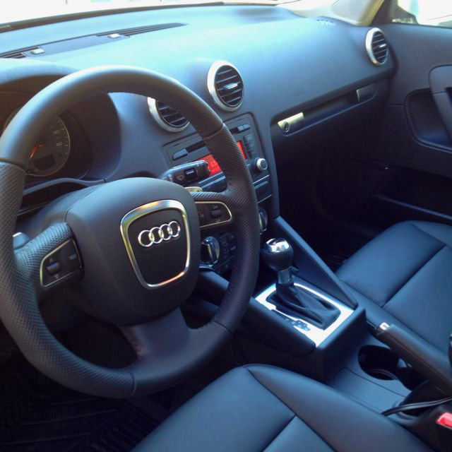 Audi A Interior With Black Trim Audi A Pinterest Audi Audi - Audi a3 interior