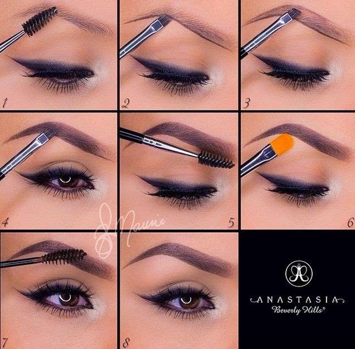 макияж для начинающих уроки в картинках получившуюся