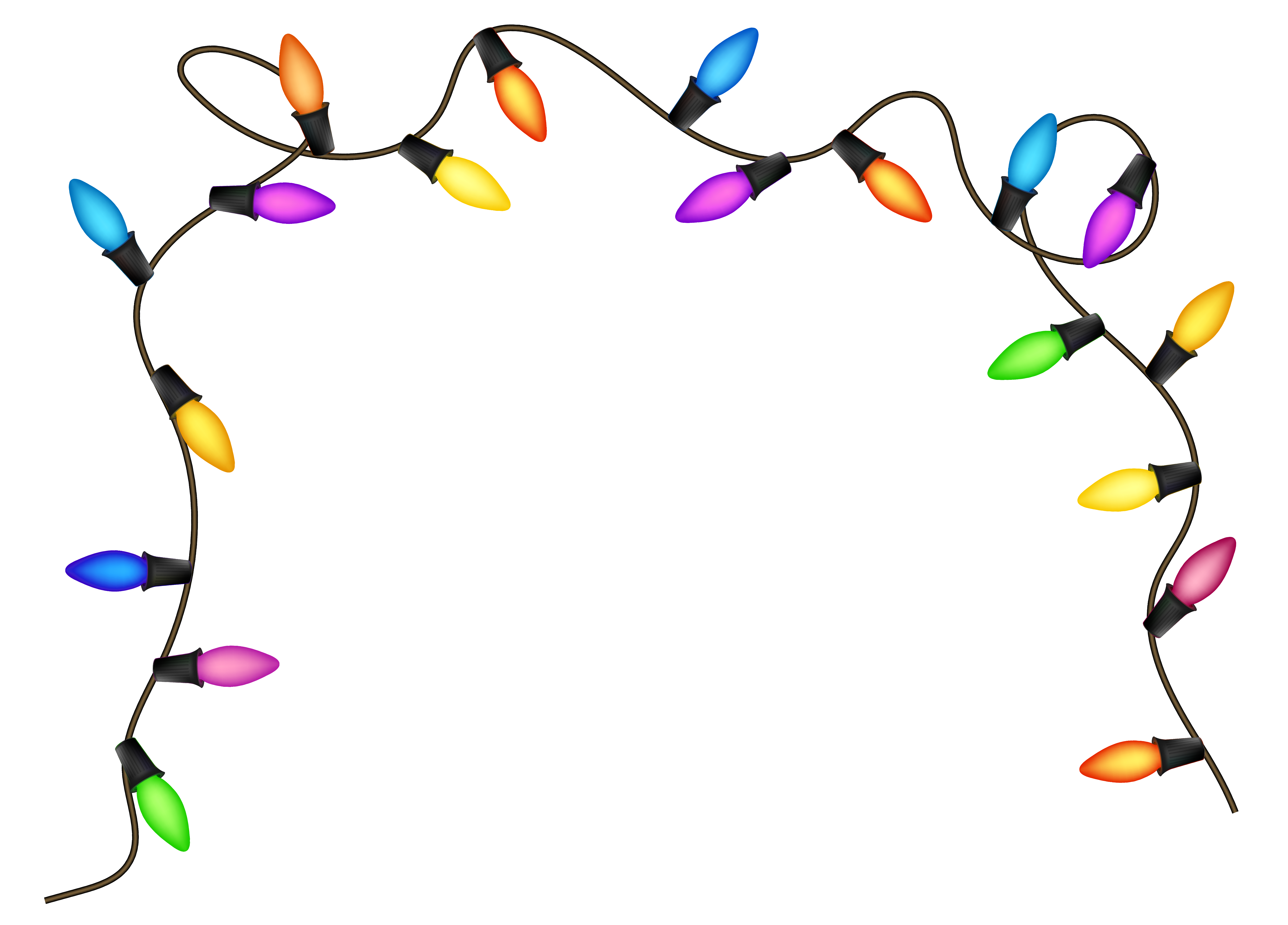 Free Christmas Lights Clipart Pictures Clipartix Christmas Lights Clipart Christmas Light Clips Christmas Lights