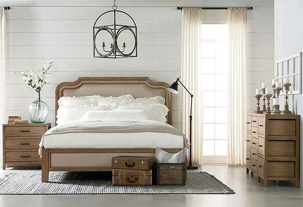 Joanna Has Thoughtfully Designed Eight Furniture Genres That Portray Her Well Loved Style Each Piece Is Room Design Bedroom Magnolia Home Bedding Bedroom Set