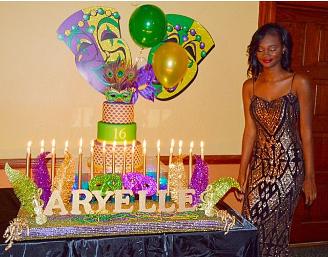 Sweet 16 Mardi Gras Name Board Made By Me Sweet16 Mardigras Decorations Party Event Ideas Mardi Gras Mardi Mardi Gras Mask