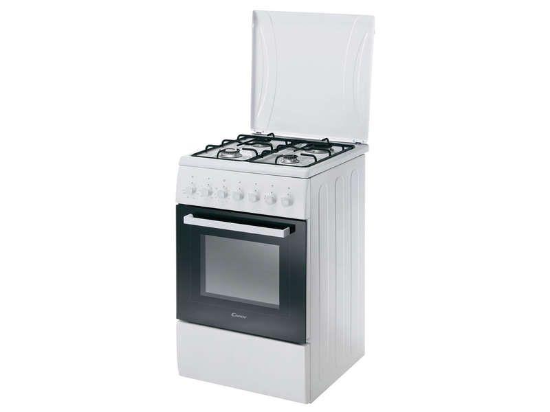 Cuisinière Conforama, achat Cuisinière 50 cm CANDY CCG5540PW prix ...