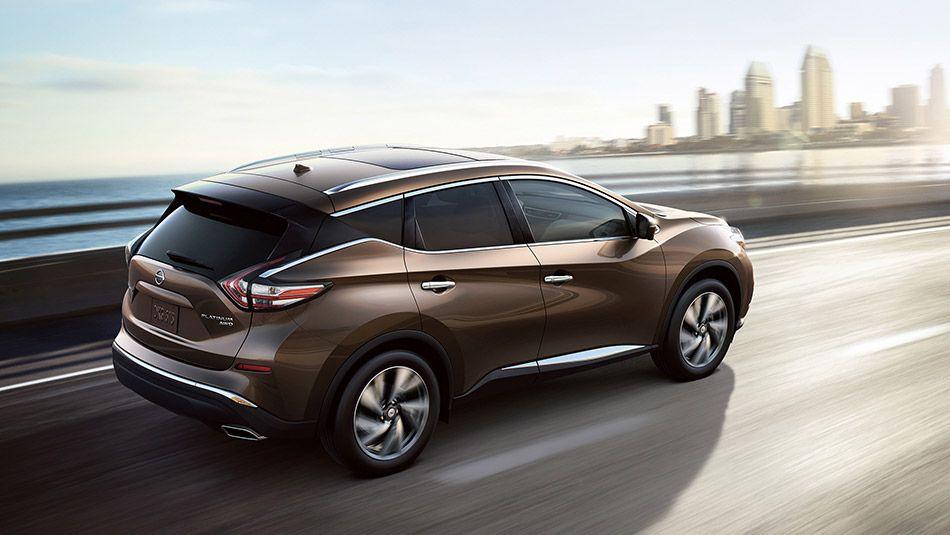 Nissan Murano ® Platinum AWD shown in Java Metallic with