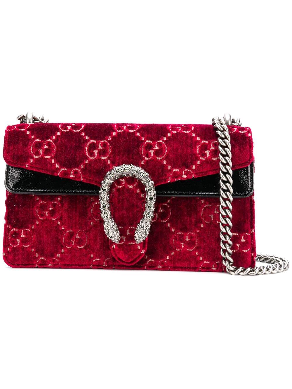 fa73f1b7e Gucci Dionysus GG Supreme bag - Red in 2019 | Products | Supreme bag ...
