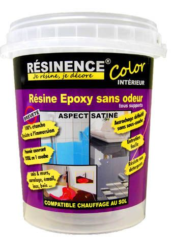 RÉSINENCE Color 0,5 L Coloris Transparent   CASTORAMA