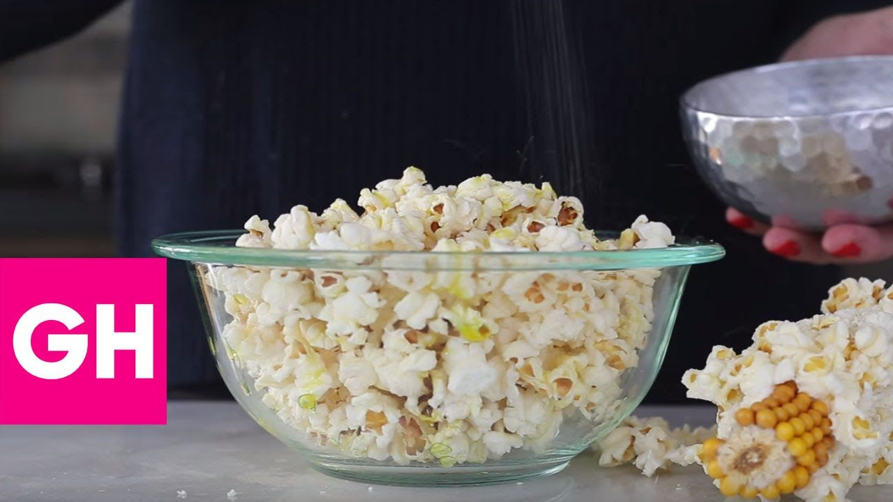How to Make Popcorn on the Cob   GH