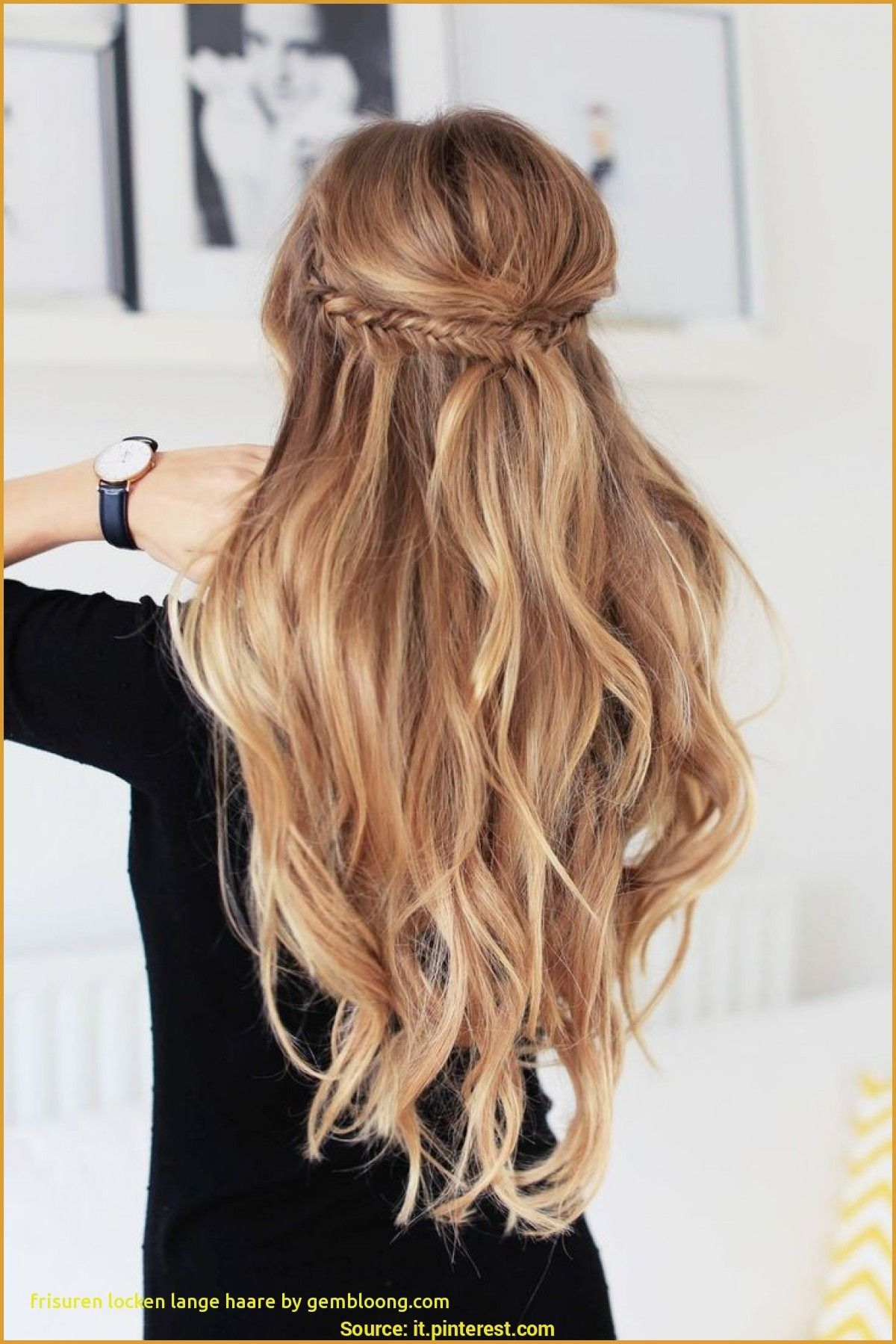 frisuren lange haare mit locken Inspirational Frisuren Locken