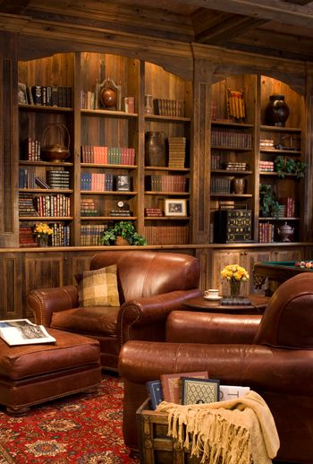 Private Library Study Rooms: Tiny Living Rooms, Home And Living, Interior
