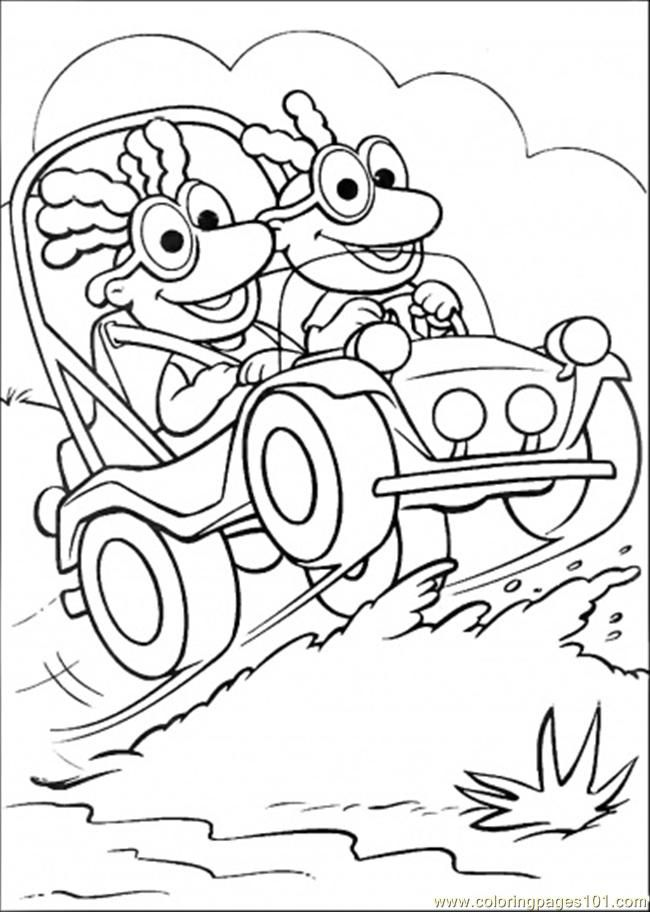 Muppet Babies Coloring Pages | animal muppet colouring pages ...