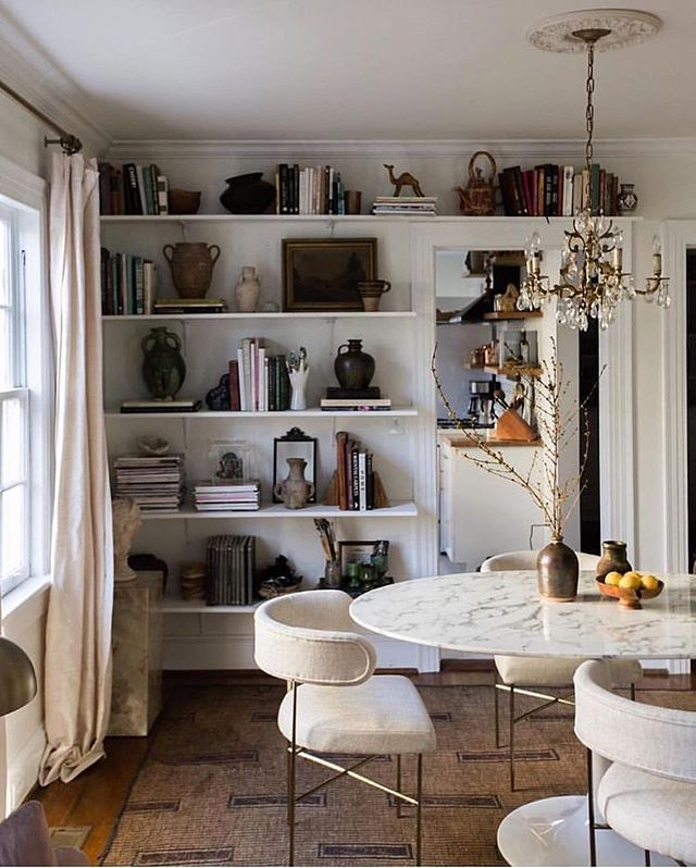 A Table By Carlaypage Via Dream Casa Carlaypagesummer Dailyauguri Auguriroomoftheday Dining Salleamanger Interio In 2020 Dining Table Marble Interior Home