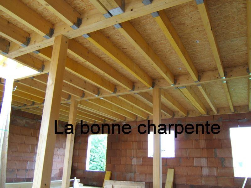 charpente plancher bois. Black Bedroom Furniture Sets. Home Design Ideas