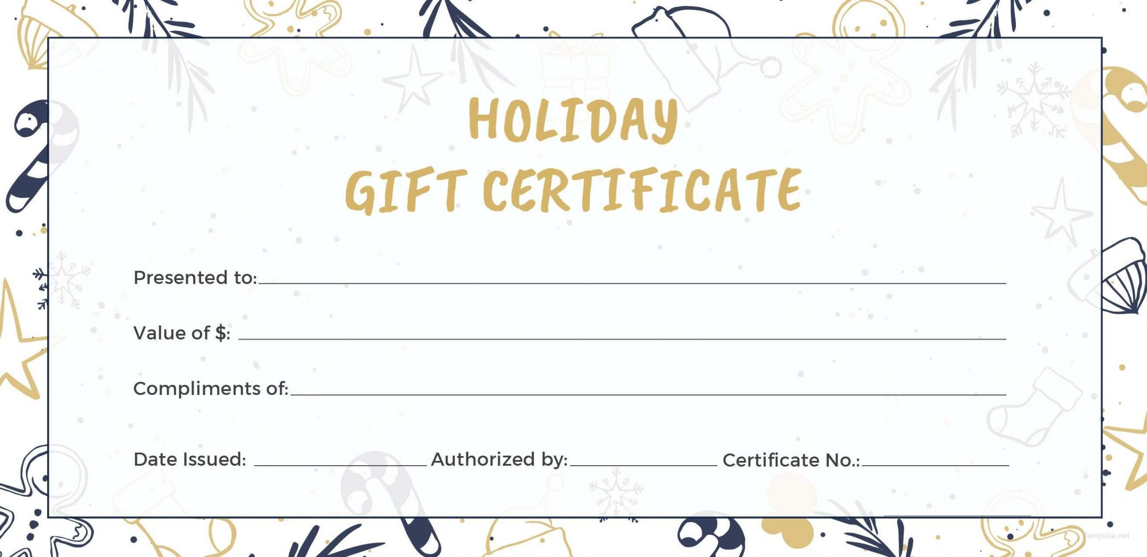 editable holiday gift certificate fast car wash gift
