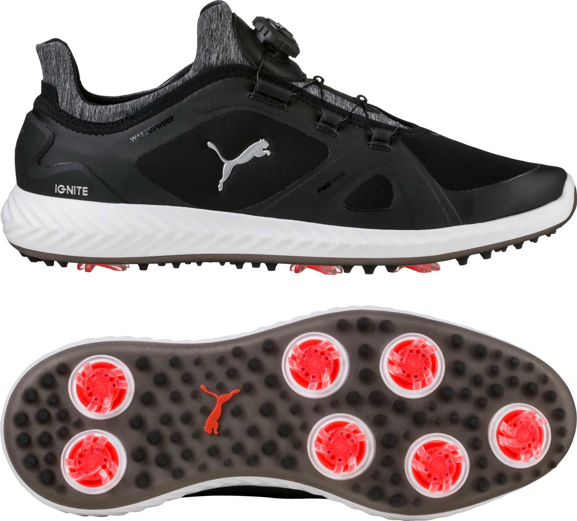 dd714963299 PUMA Men s IGNITE PWRADAPT DISC Golf Shoes in 2019