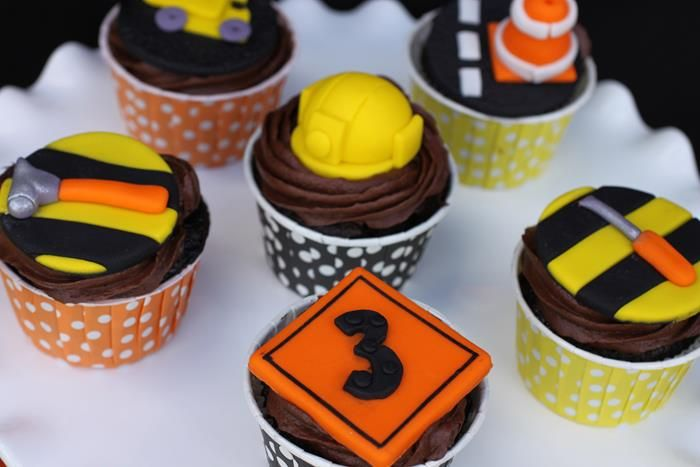 Construction Party Planning Ideas Supplies Cake Decorations