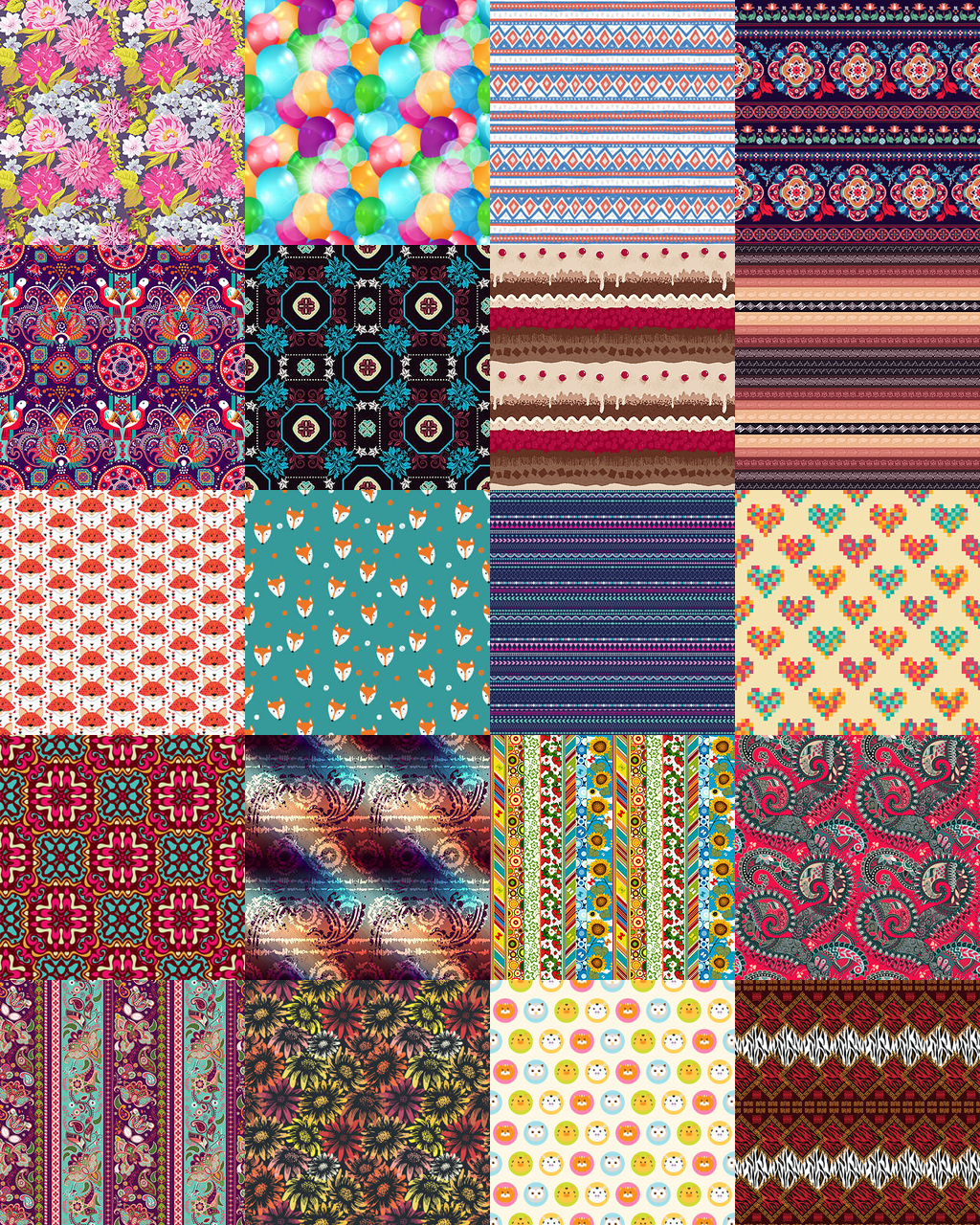 omfgingers:   Here is 20 seamless patterns for... - Eris Sims 3 CC Finds