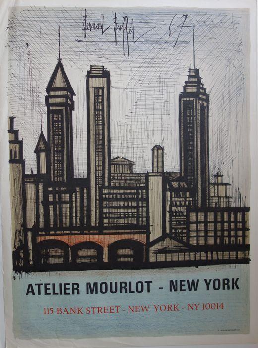 Bernard Buffet (after) - Skyline de New-York - Catawiki