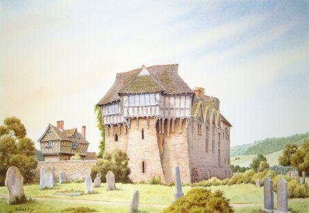David J. Fry -Stokesay Castle, Shropshire