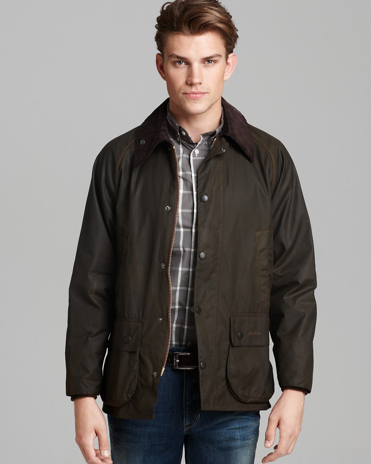 Classic Bedale Waxed Cotton Jacket Style Waxed Cotton