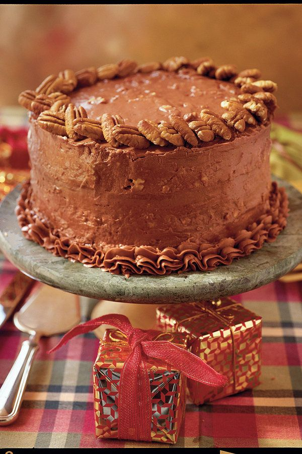 Luscious Layer Cakes Italian cake Chocolate cream cheese frosting