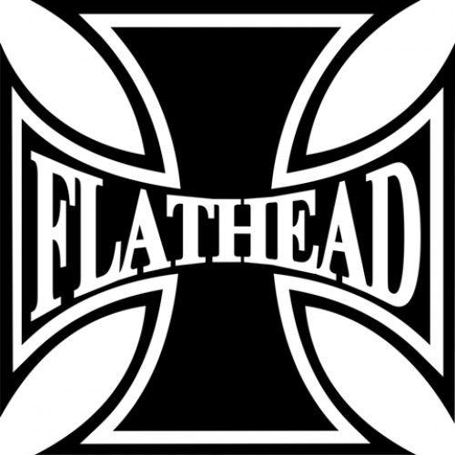 harley davidson flathead iron cross motorcycle helmet decal design rh pinterest co uk Nu Metal Band Logos Metal Band Logos Ideas