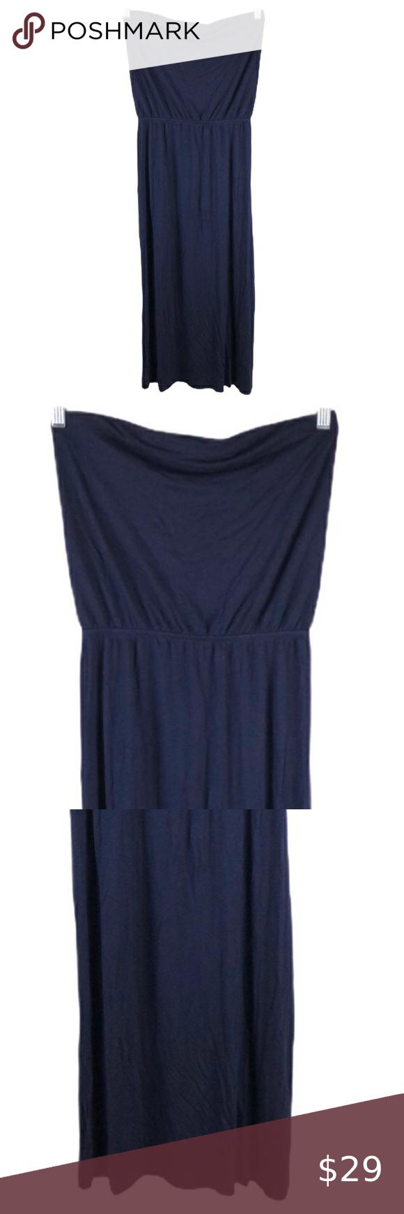 Gap Navy Strapless Maxi Dress Strapless Maxi Dress Maxi Dress Strapless Maxi [ 1740 x 580 Pixel ]
