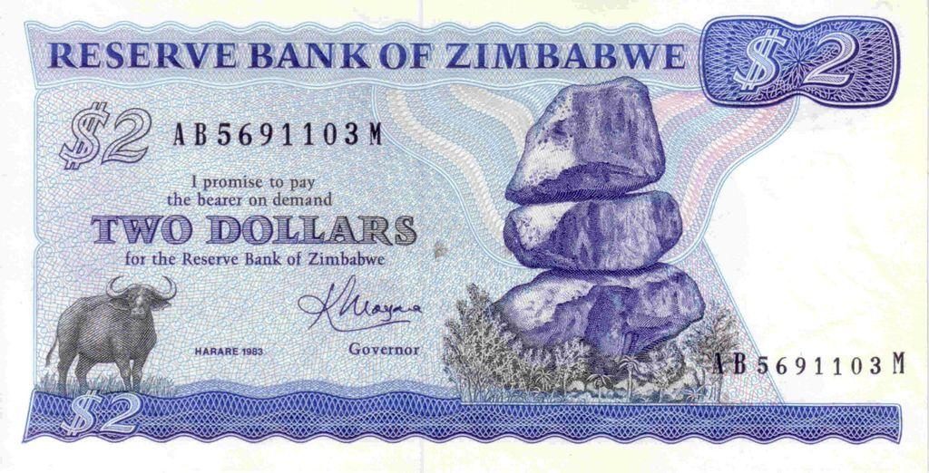 Zimbabwe World Thinking Day Zimbabwe Money Collection
