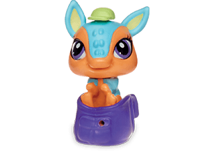 Armadillo In A Backpack Turquoise Terra Cotta Littlest Pet Shop Lps Pets Pet Toys