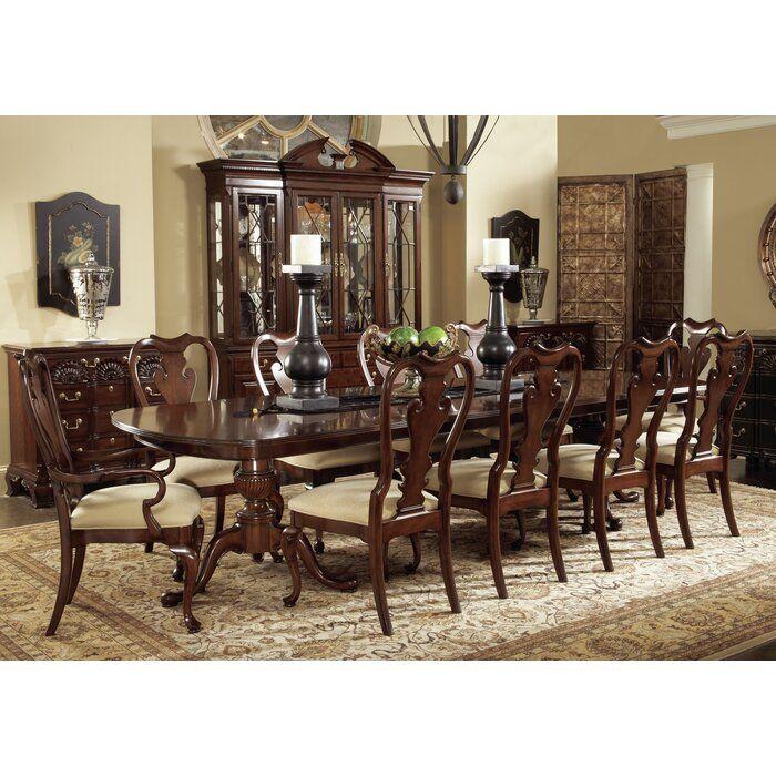 Fine Furniture Design American Cherry Extendable Walnut Solid Wood