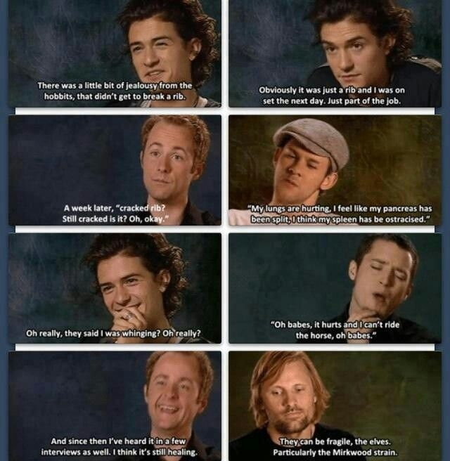 Funny Hobbit Quotes: Funny Quotes From The LOTR Special Features