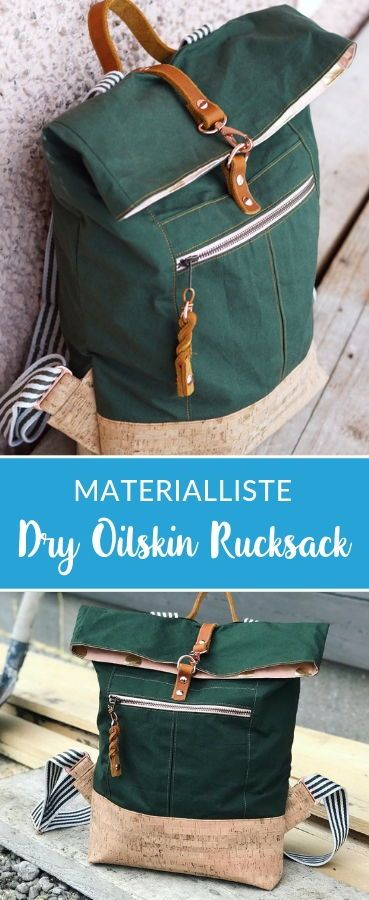 Photo of Dry Oilskin Rucksack von Mimi näht * Showroom *