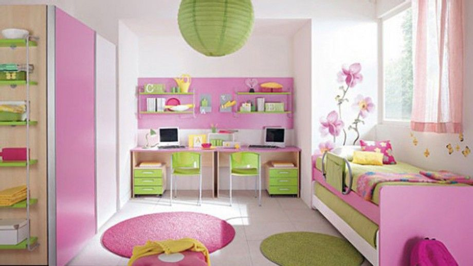 Decor For Kids Bedroom. Girly Kids Room Decor Ideas For Bedroom L