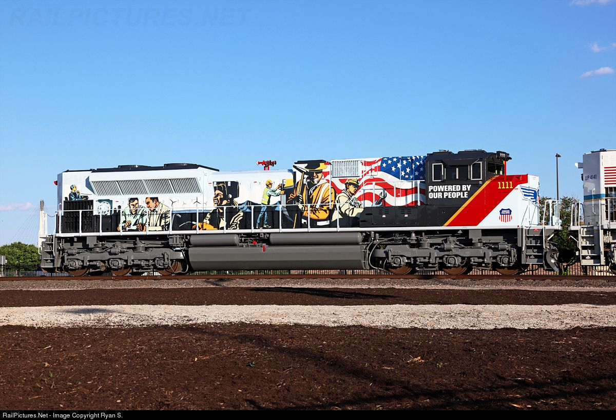 Locomotives With Special Paint Jobs