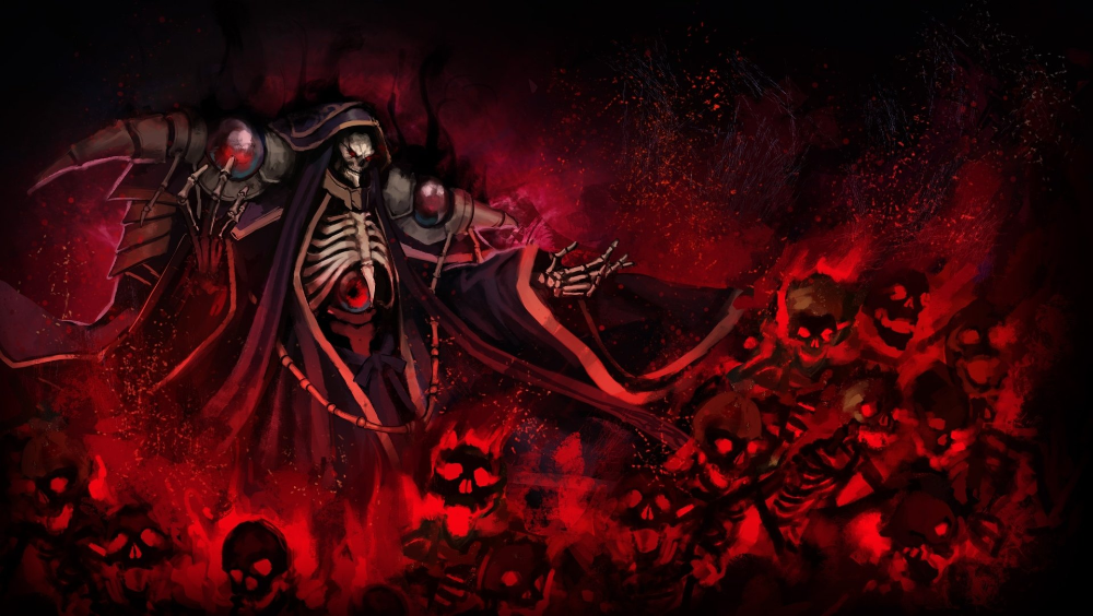 Anime Overlord Ainz Ooal Gown Wallpaper Anime Wallpaper 1920x1080 Ninja Wallpaper Anime