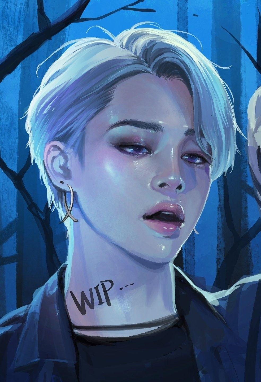 BTS Jimin fanart BlackSwan in 2020 (With images