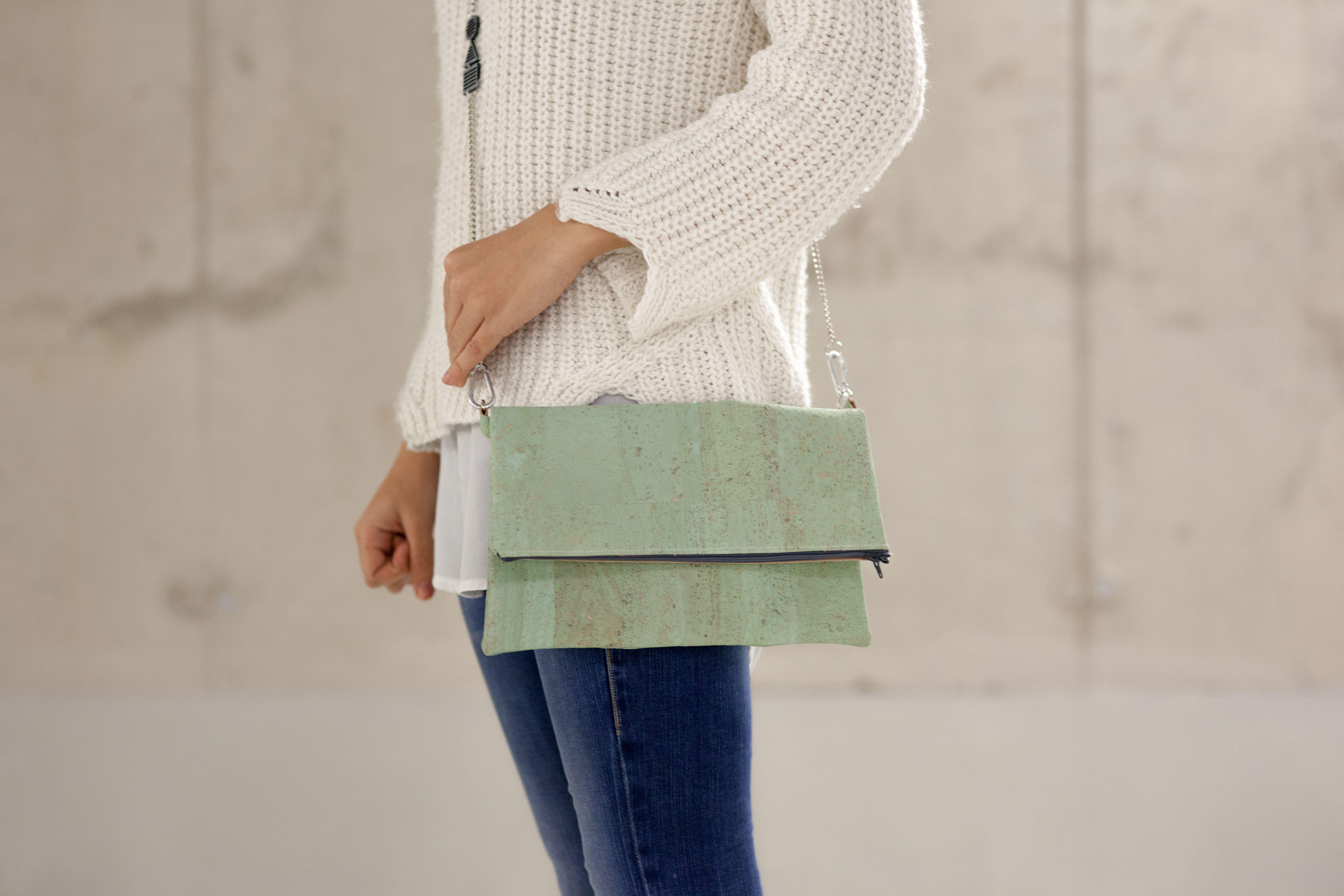Tasche TRINO von Tri by Mona-Lisa // Korkledertasche