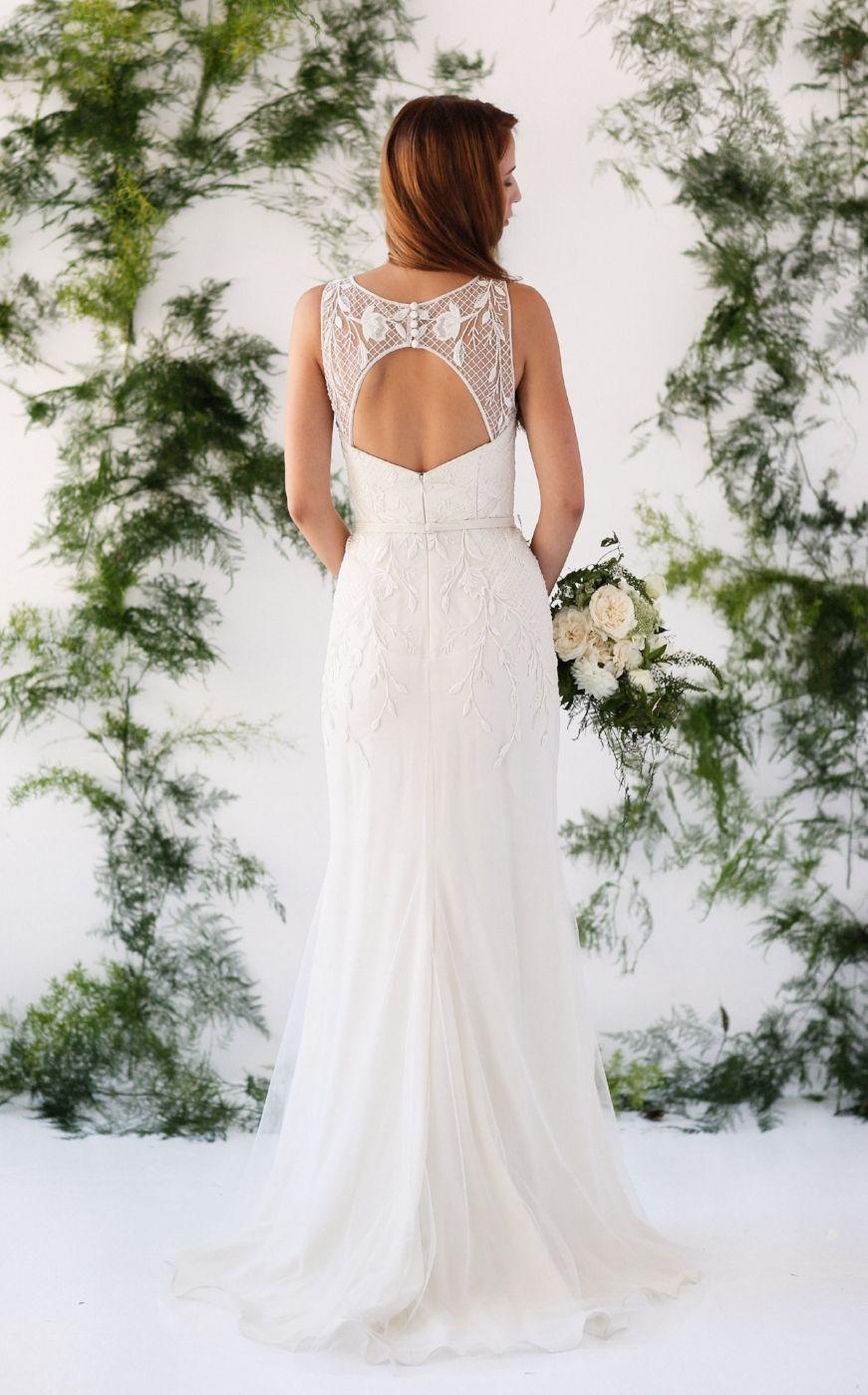 Marina semone wedding dress tess dress boho bride romantic bride