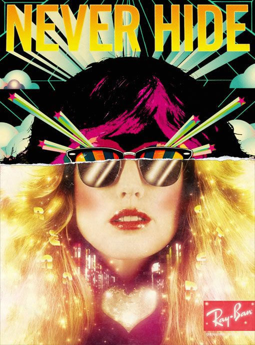 b1b0d8edd15 Kele Dobrinski - Ray Ban Colorize campaign.  posters  artdirection   photography