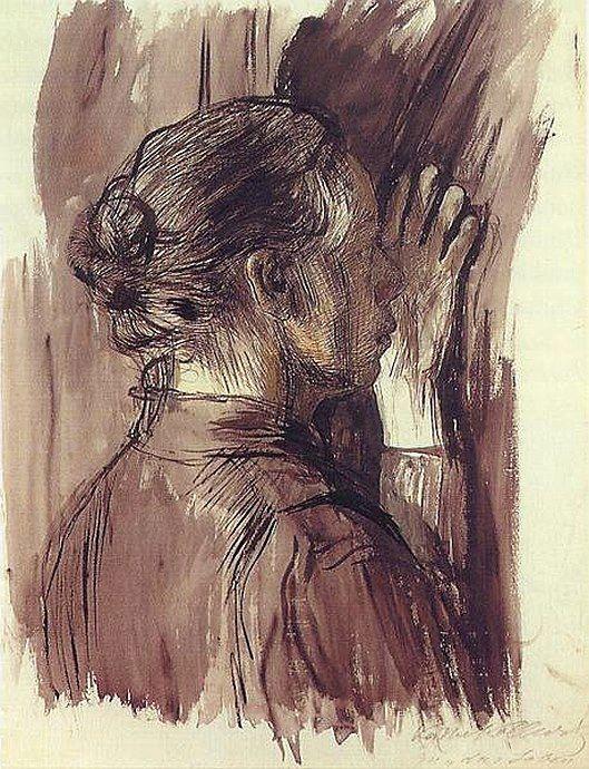 Käthe Kollwitz, 'Self Portrait