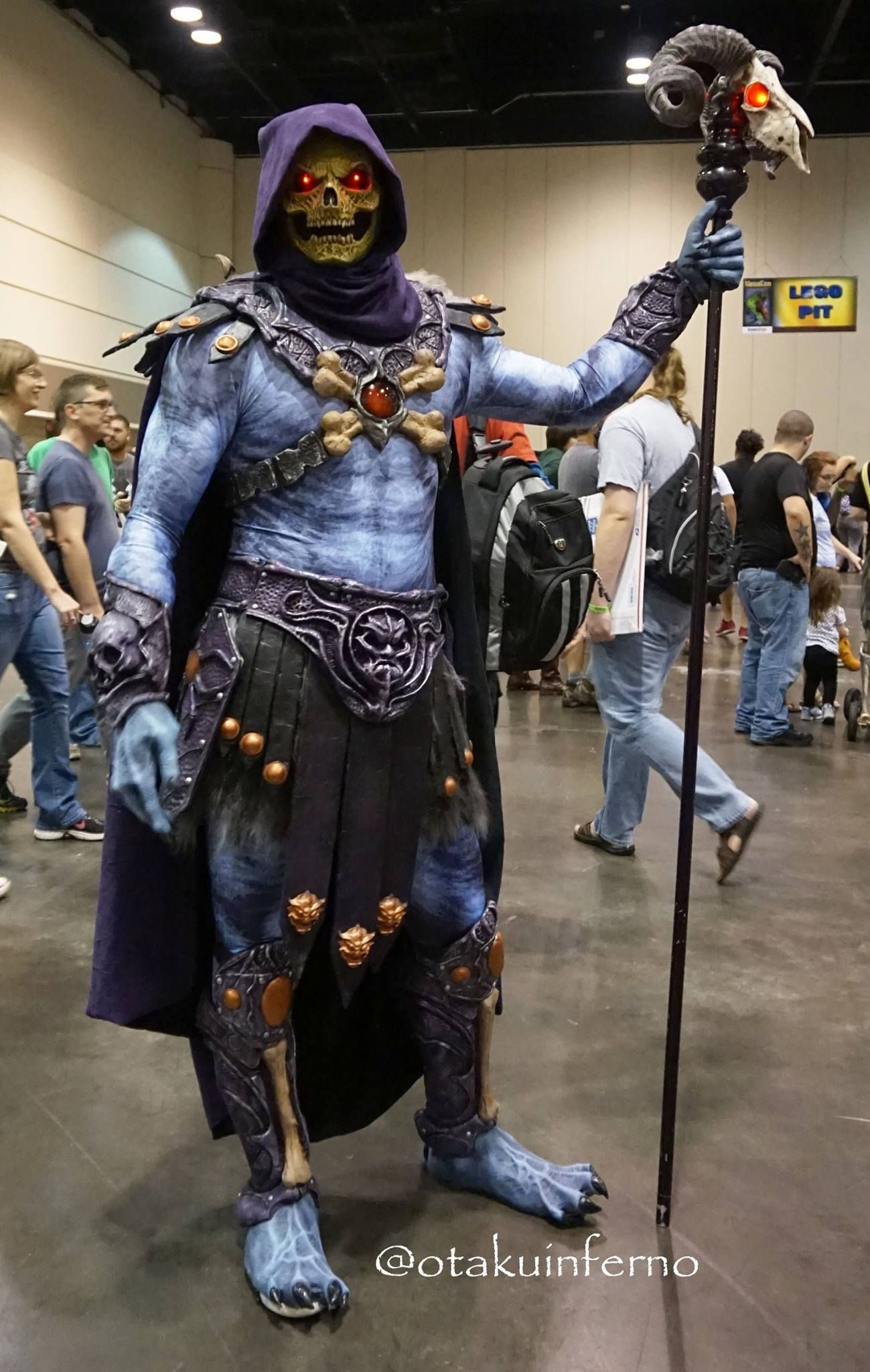 Best Skeletor cosplay I've ever seen.