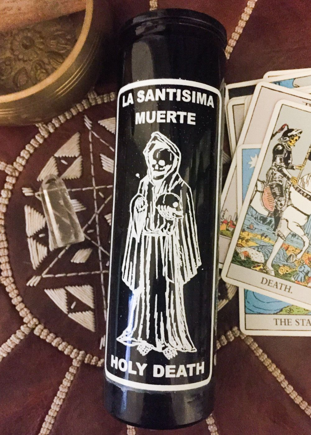 day candle holy death products pinterest products