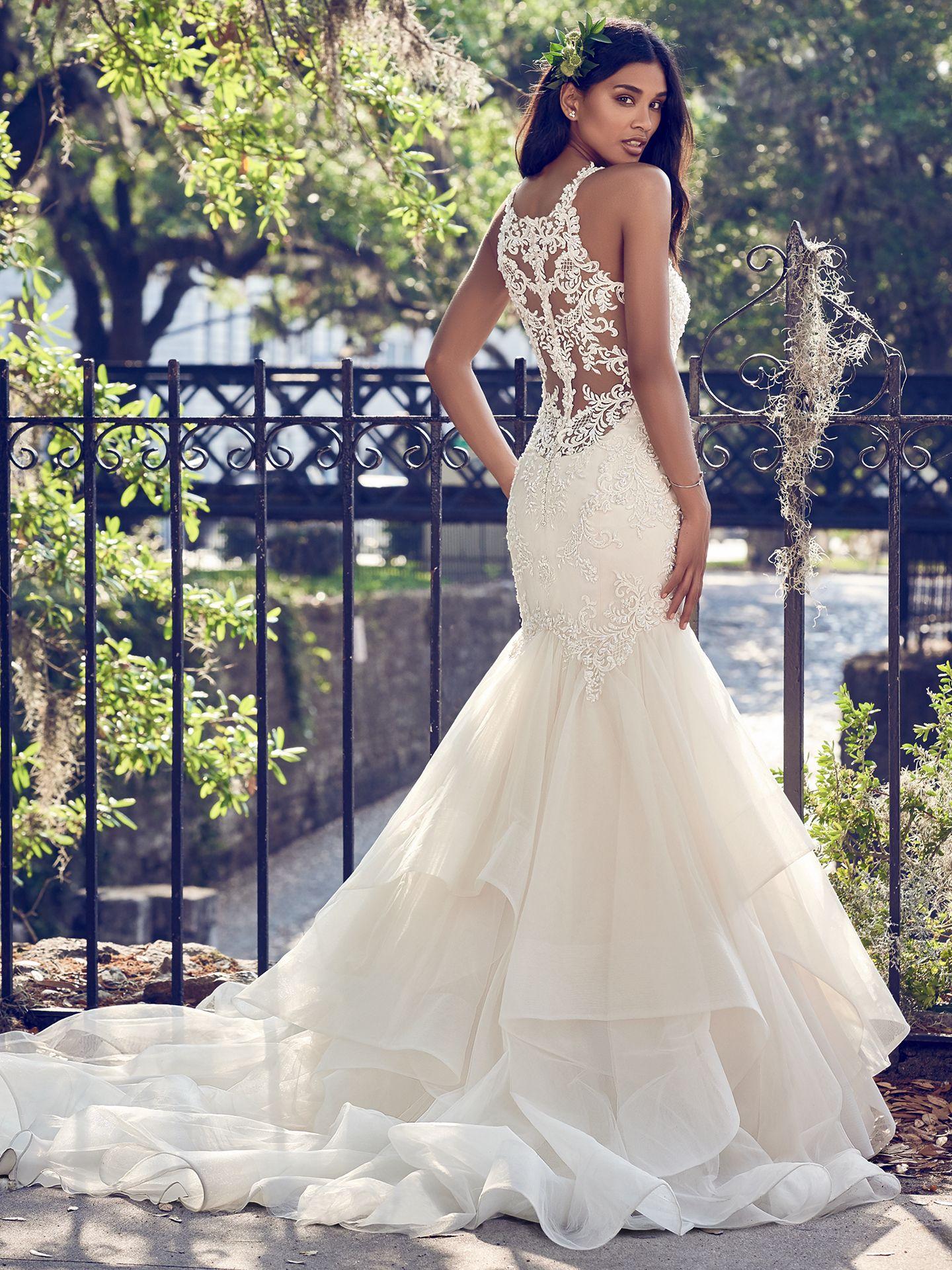T-length lace wedding dresses november 2018 Maggie Sottero Wedding Dresses in   Someday uc  Pinterest