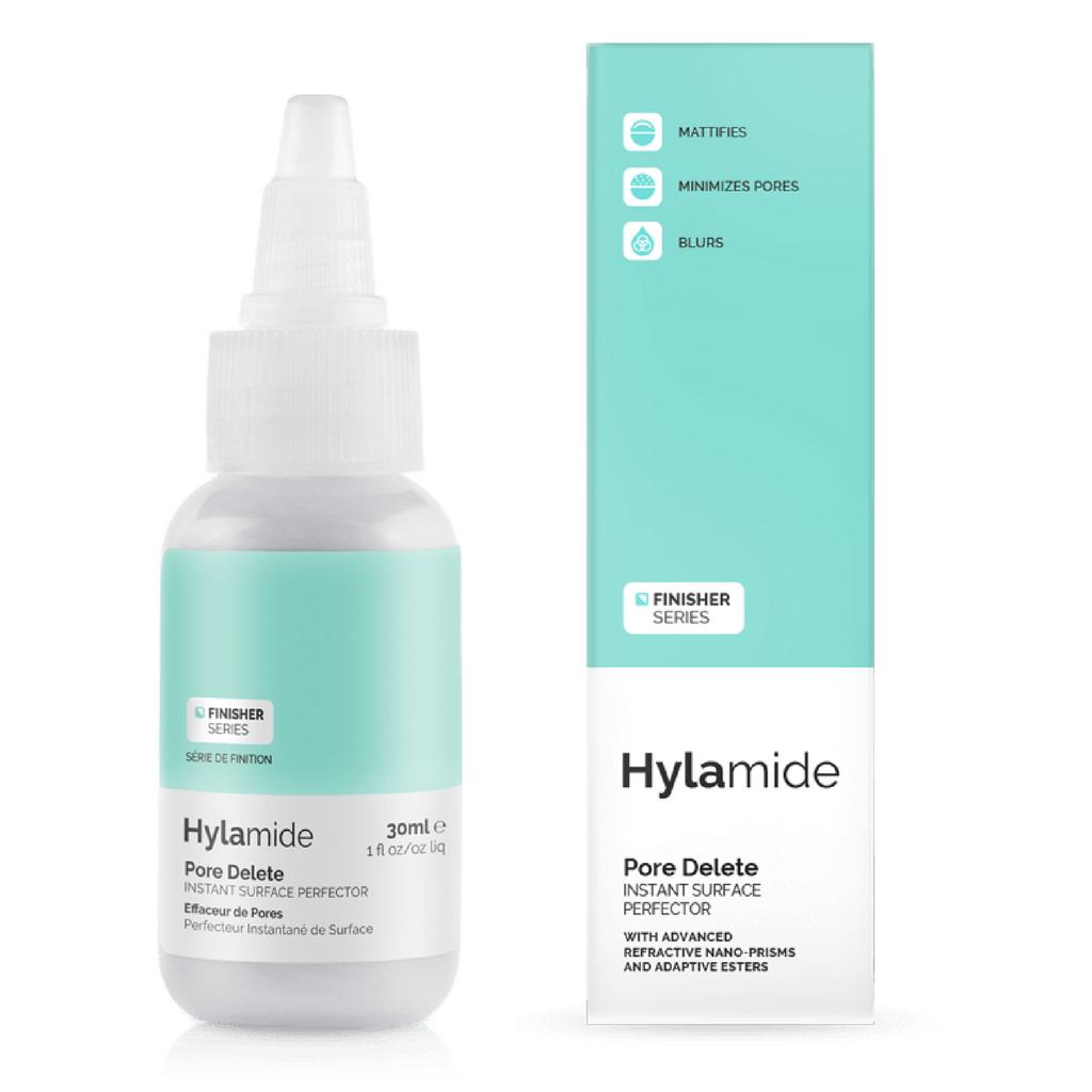 Hylamide Finisher Pore Delete makeup mascara