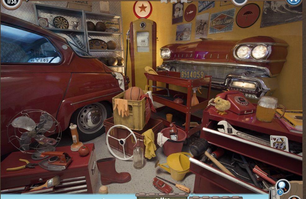 Vintage Garage Pictures I Spy Books Photo