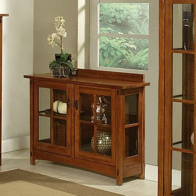 AYCA Furniture Bungalow Curio Cabinet