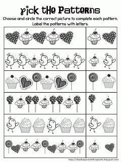 örüntü çalışma Sayfaları 1 Okul öncesi Eğitim Mini Günce Okuma