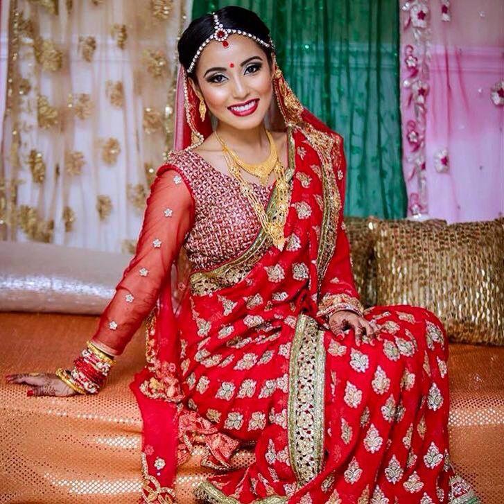 Beautiful Nepali bride | Wedding beauty | Pinterest ...